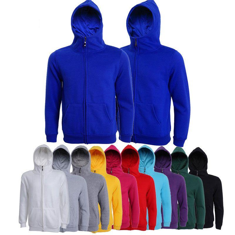 dd46a2bf2db 2019 New Fleece Knit Zip Up Long Sleeves Jacket Sweatshirts Zipper Top  Cardigan Plain Mens Womens Hoodies From Smartgrass