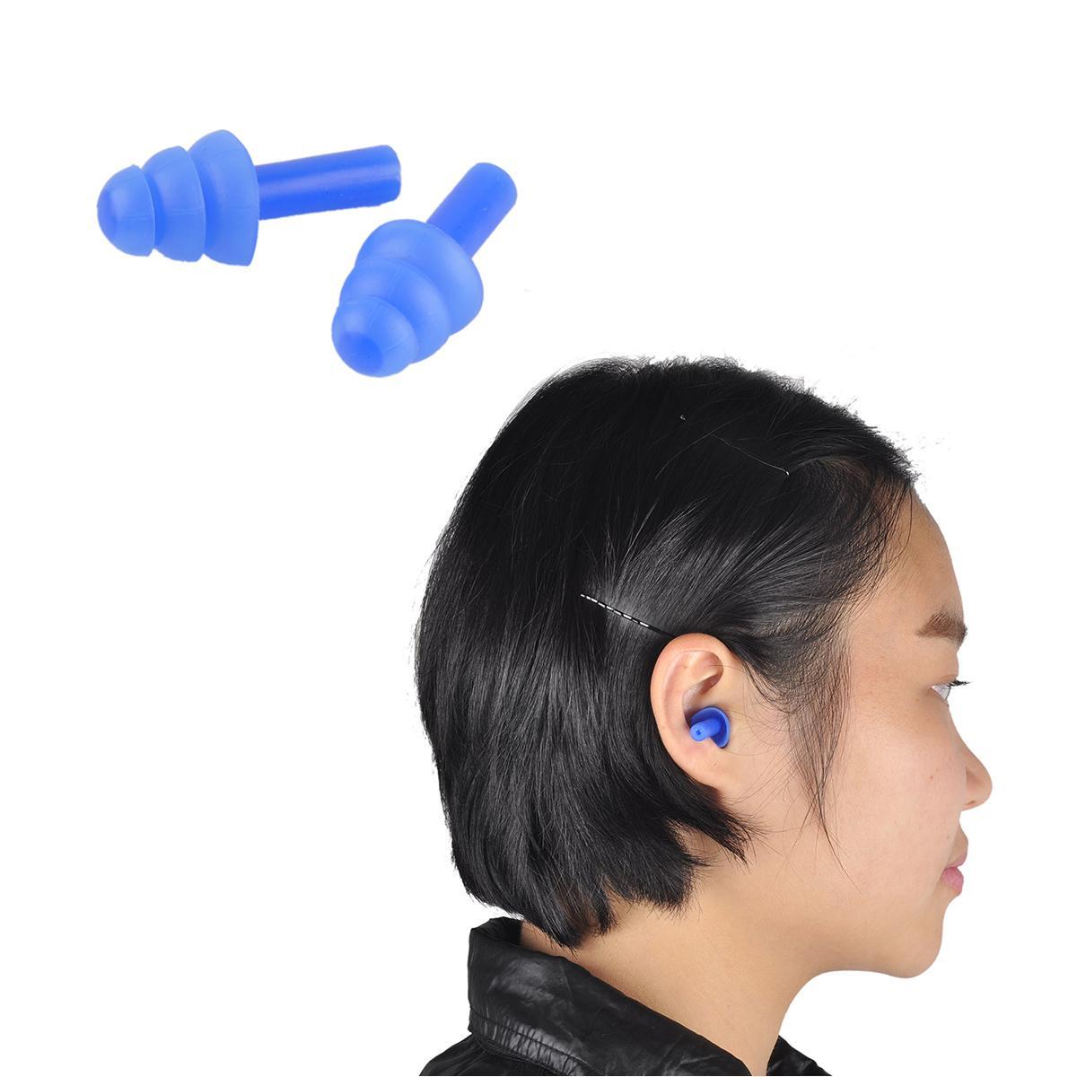 Tappi le orecchie in schiuma morbida Isolamento acustico Tappi le orecchie Protezione anti-rumore Tappi dormire schiuma da viaggio Soft Noise Reduction 2 pz / set 0613029