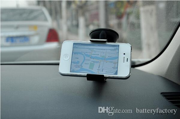 Ücretsiz DHL, 30 ADET Evrensel Cep Telefonu Araç Montaj Tutucu Cam Masaüstü Braketi Tutucular Cep Telefonu Smartphone Samsung iPhone 2 Renkler