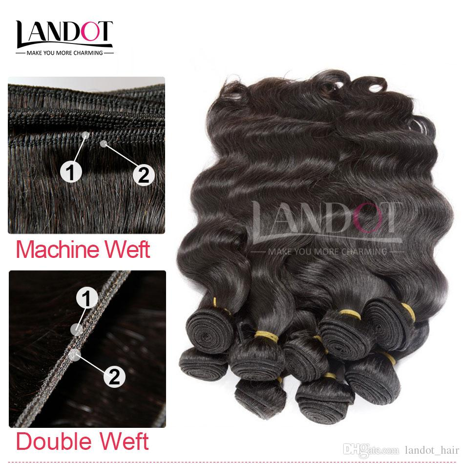 Wholesale Best 10A Brazilian Hair Body Wave 1KGUnprocessed Peruvian Indian Malaysian Cambodian Human Hair Weave Can Bleach 2 Years Life