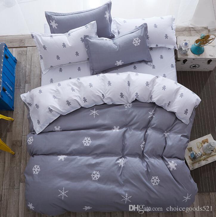 Bamboo Fiber Jacquard Duvet Cover Set 3/Sheets+quilt+Pillowcase Full King  Queen Twin Kids Size Bedding Set Bedding Sheets Bedding Sets Online With ...