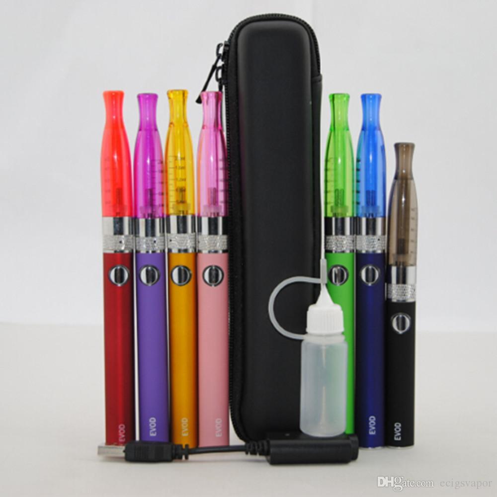 2016 Hottest Electronic cigarette kit EVOD H2 E cigarette evod -H2 kit de démarrage kit evod E-cigarette DHL livraison gratuite