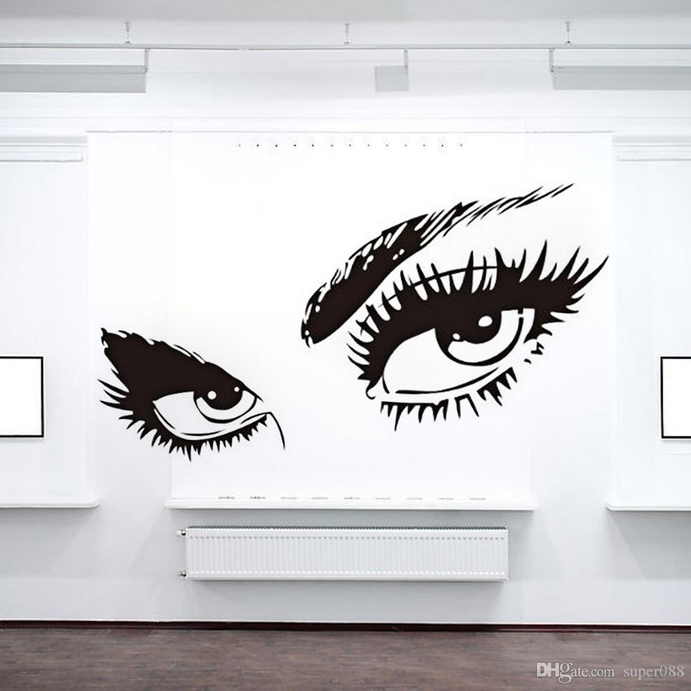 Sexy Eyes Pvc Wall Stickers Mural Art Decal Home Decor Home Wall