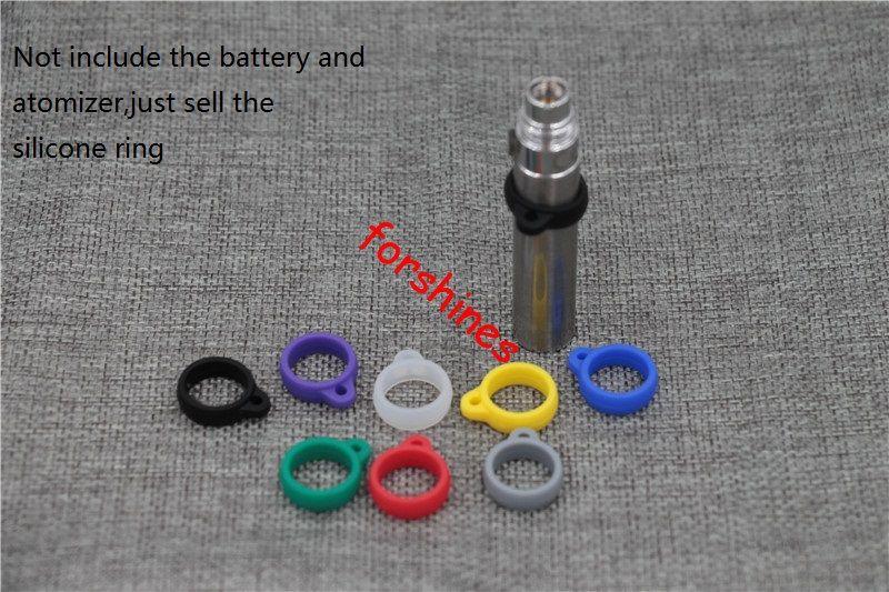 to USA UK Canada Silicone Vape Rings Rubber Electronic Cigarette Vape Bands ego ce4 atomizer battery silicone decorative ring