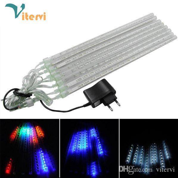 20cm 30cm 50cm Rain Tube 100 240v Led Strip Light Christmas Lamp Waterproof  Outdoor Eu/Us /Uk/Au Battery Powered Led Light Strips Striplight From  Vitervi, ...