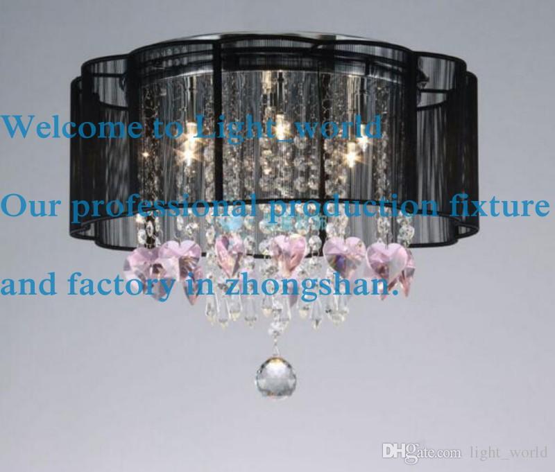 neue trommel schatten kristall decke kronleuchter anhnger licht leuchte beleuchtung lampe 1310 - Kronleuchter Licht Mit Trommel