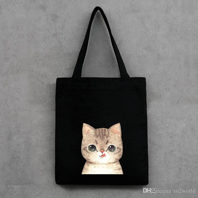 High Quality Cool Canvas Students Book Bag Shoulder Bags Handbag ...