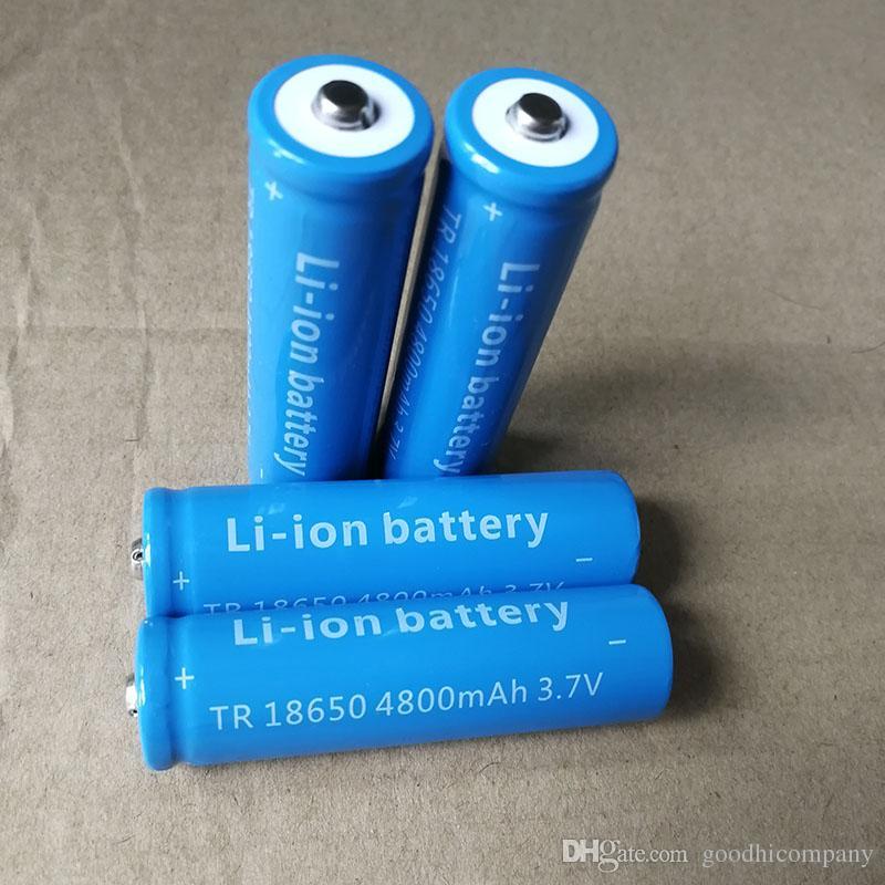 Haute qualité Li-ion 18650 4800mAh bleu ciel 3.7 V batterie au lithium peut être utilisé dans appareil photo numérique lampe de poche LED et ainsi de suite