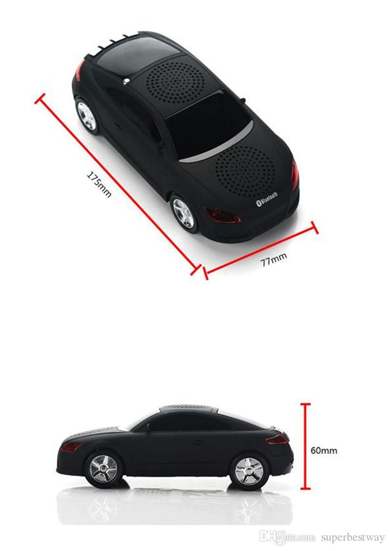 Super Cool Bluetooth Lautsprecher Top Qualität Auto Form Wireless Bluetooth Lautsprecher Tragbare Lautsprecher Sound Box für iPhone Computer MIS131