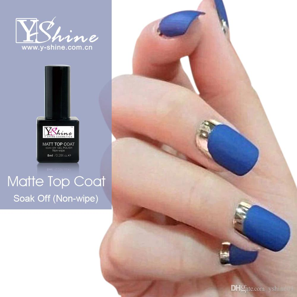 Nail Gel Polish Matt Matte Top Coat Easy Soak Off At Home Manicure Brands From Yshine01 222
