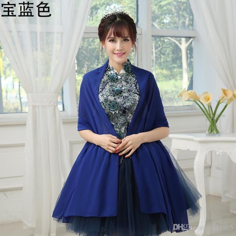 2019 Shirt Sexy Wedding Jacket Wedding Accessories Long Bolero For Evening Gown Dress Bridal Wraps & Jackets