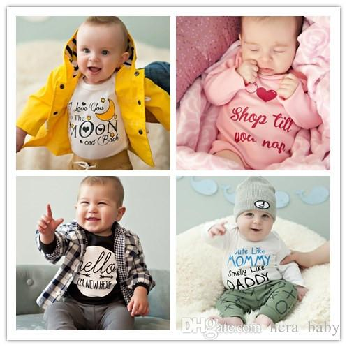 4d1a5754b 2019 New Newborn Clothes Baby Boys Rompers Costumes Lovely Child ...