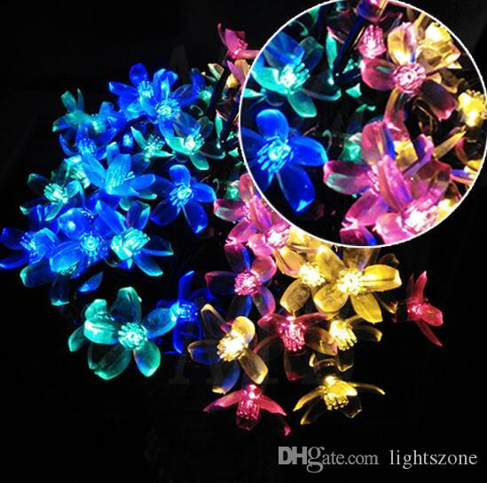 Novelty String Lights Outdoor 2017 outdoor waterproof novelty solar led garland string lights 2017 outdoor waterproof novelty solar led garland string lights cherry party holidays wedding decoration novelty string lights outdoor waterproof string workwithnaturefo
