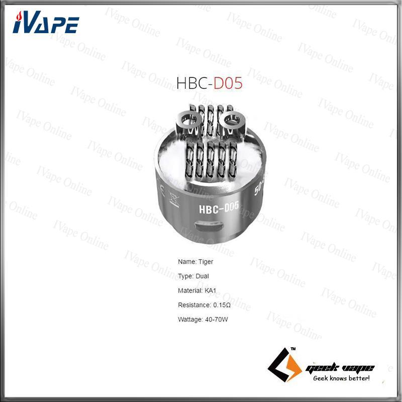 GeekVape Eagle Tank HBC Bobina di costruzione HBC-S01 HBC-S02 HBC-S05 HBC-S05 HBC-S05 HBC-S05 HBC-S07 HBC-S08 HBC-S09 S11 S12 HBC-D01 D02 D03 D04 D05