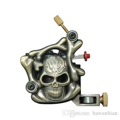 Empaistic Tattoo Machine Gun For Shader & Liner Wholesale 10 Wrap Coils Kits Supply for Choose