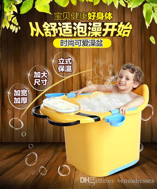2016 Hot Slae Baby Tubs Baby Bath Tub Children\'s Bathtub Thickening ...