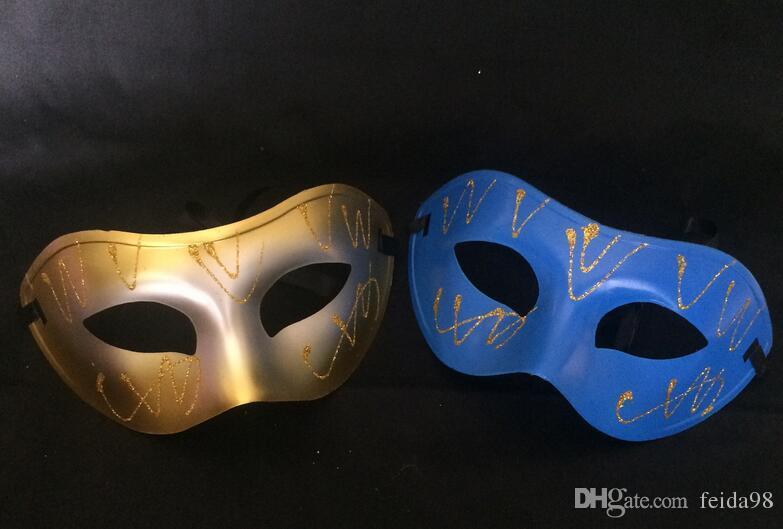 2017 nouvelle usine vente directe pulvérisation peint à tête plate masque Halloween fête d'anniversaire festival