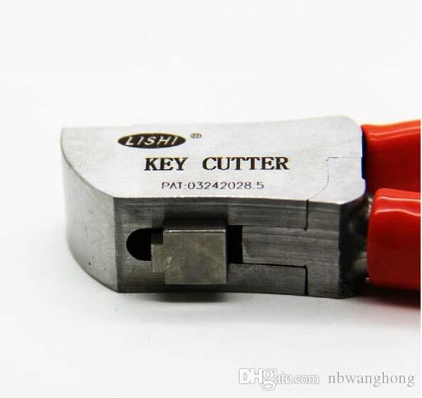 2019 무료 배송 높은 품질의 원래 Lishi 키 커터 자물쇠 자동차 키 커터 자동 키 절단 기계 자물쇠 도구