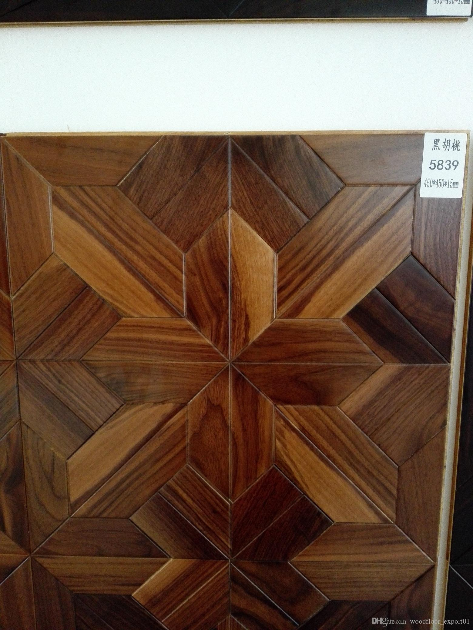 Acheter Rosewood Decoration De La Maison Feuilles De Bambou Plancher