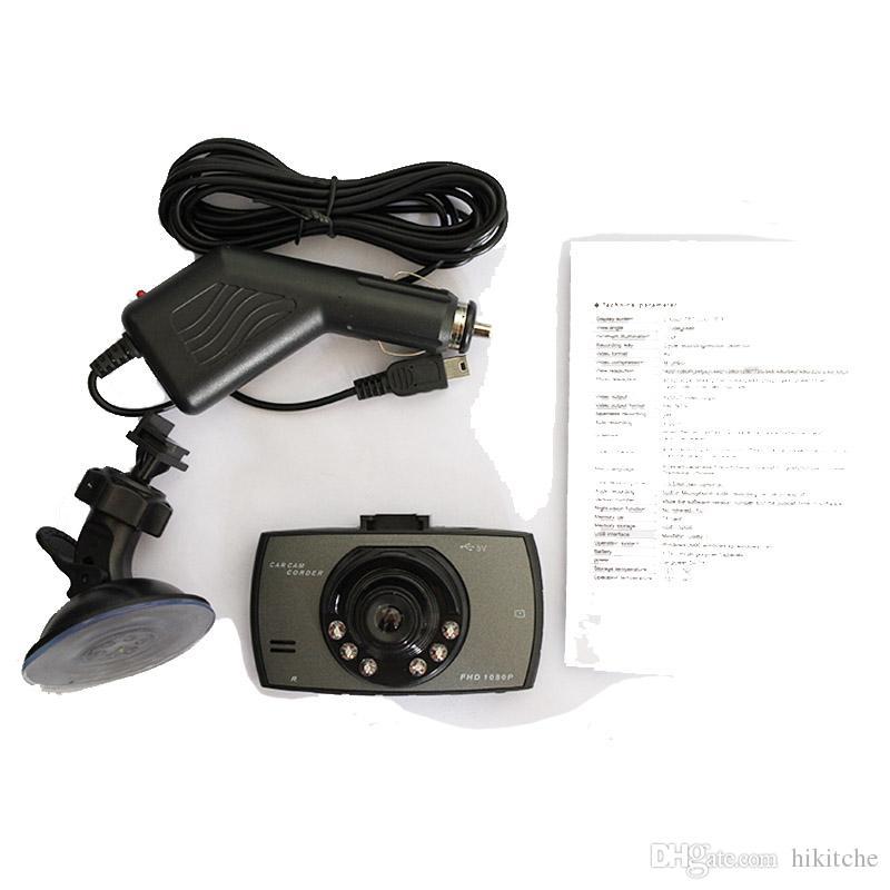 Mini 2.0 Zoll 120 Grad Auto DVR 6IR LED Nachtsicht Kamera Recorder Dash Cam G-Sensor G30