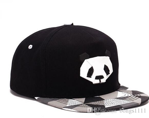 Popular Lovely China Panda Snapback Caps Adjustable Basketball Snap Back  Hats Black Hip Hop Snapbacks High Quality Players Sports Custom Baseball  Hats Army ... 710415af353