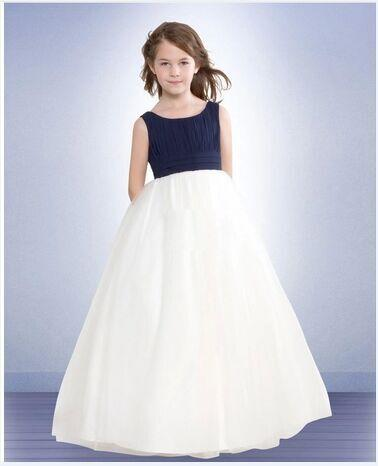 Pageant Dresses For Girls Purple Jr. Bridesmaid Wedding Pageant Party Recital Dancing Flower Girl Dress Girls Long Section Of High-End Weddi
