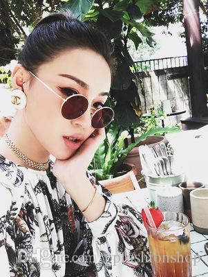 2017 новый европейский и американский мода ожерелье минималистский стиль металлическое ожерелье женский ожерелье Оптовая бесплатная доставка
