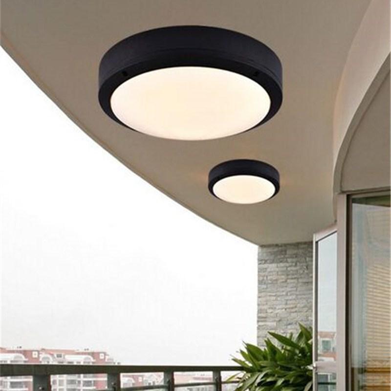 Acheter Lampe De Plafond Led Ronde Moderne Feux De Portique