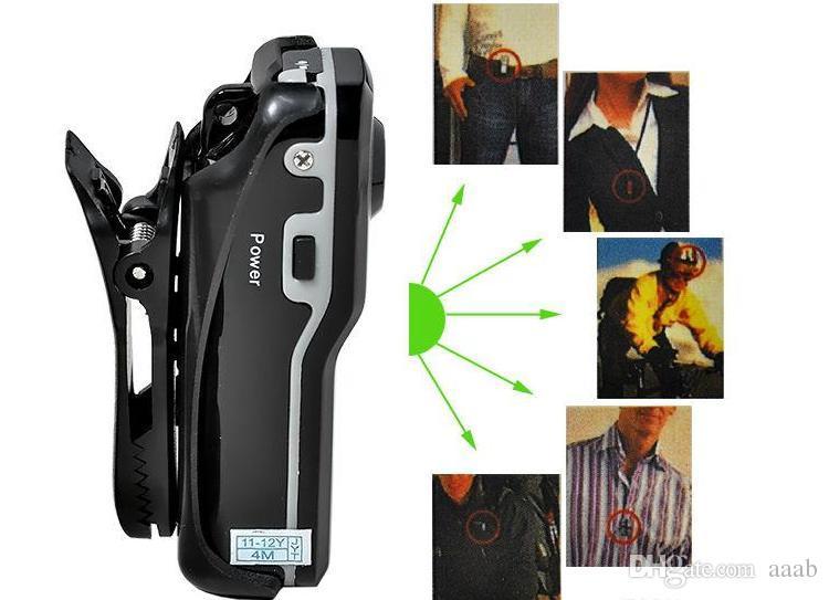 MD80 ad alta risoluzione Mini DV DVR Sport Video Record Camera Camcorder funzione di registrazione attivata dal suono JBD-MD80 Invia