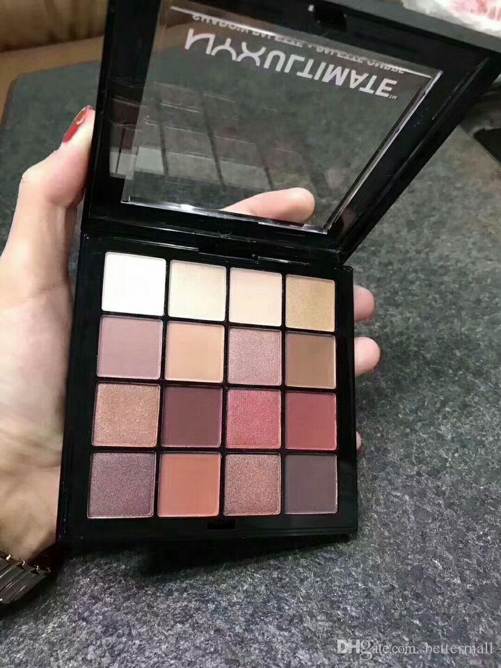 nyx ultimate eyeshadow palette sverige