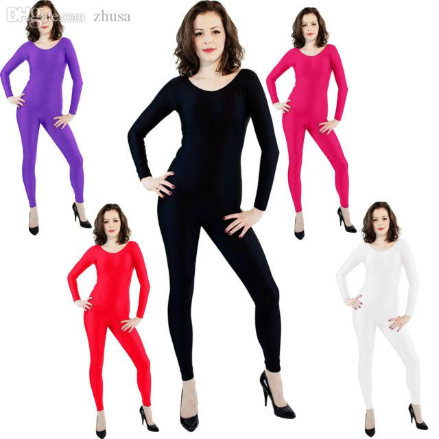 2018 Wholesale Catsuit Ballet Women Witch Fancy Dress Costume Unitard Dance Gym Bodysuit Lycra Zentai Spandex Catsuit Xs/S/M/L/Xl/Xxl From Zhusa ...  sc 1 st  DHgate.com & 2018 Wholesale Catsuit Ballet Women Witch Fancy Dress Costume ...