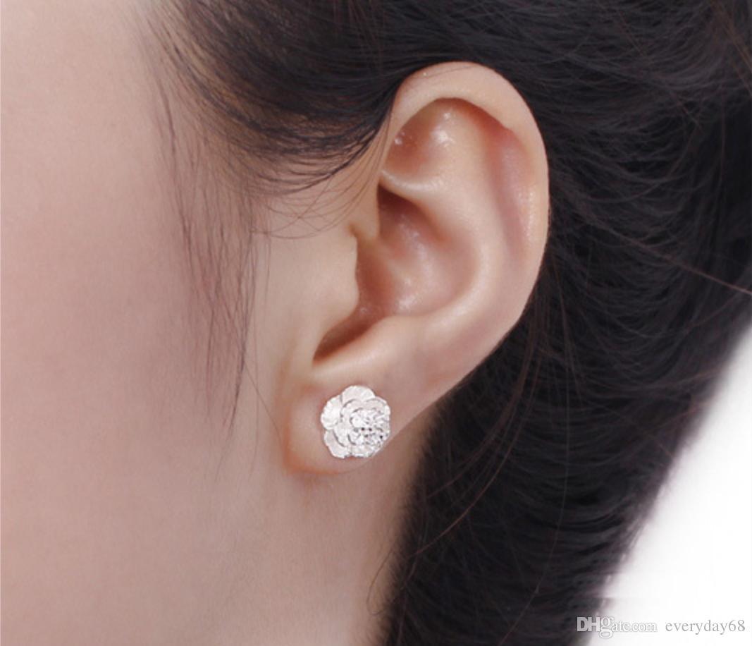 cheap stud earrings women earring fashion jewelry 925 sterling silver Female romantic and elegant ear rings luxury