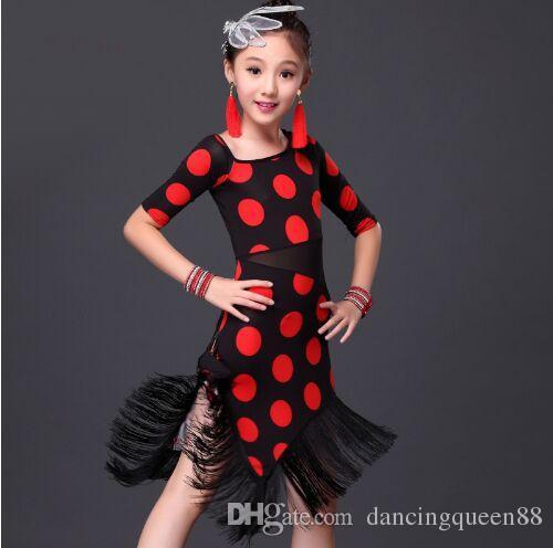 Online Cheap 2016 Dress Kids For Latin Dance Children Costumes ...
