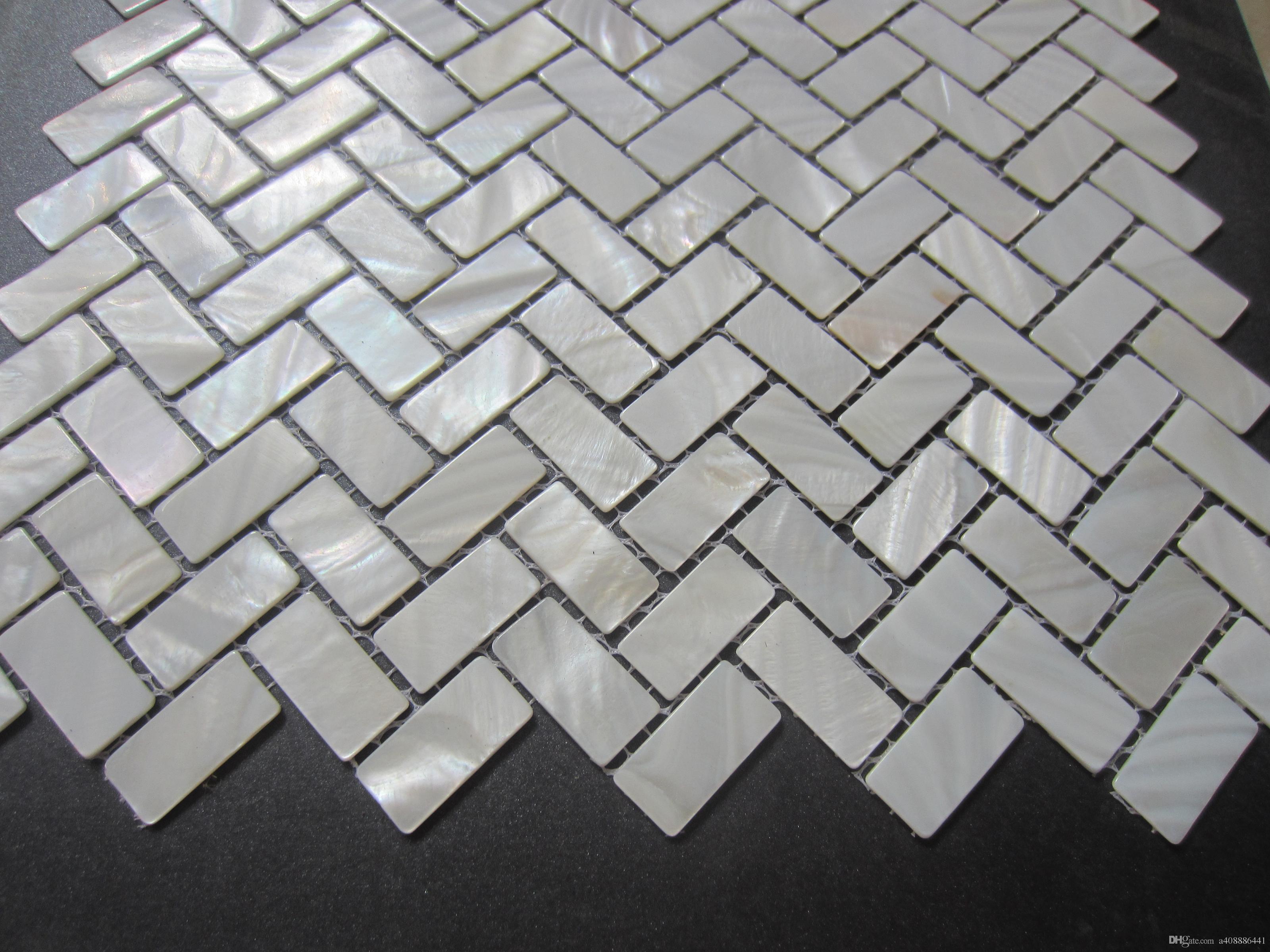 10 Stück Perlmutt Inlay Shell Rohlinge Mosaik Zubehör für Handwerk Mosaik