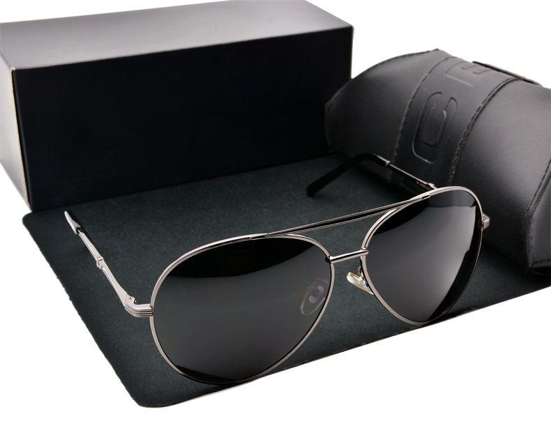 2020 حار بيع جديد نمط مصمم نظارات الاستقطاب القيادة النظارات الشمسية تصميم نظارات الشمس نظارات الرجال هي ذكر مع حالة مجانية