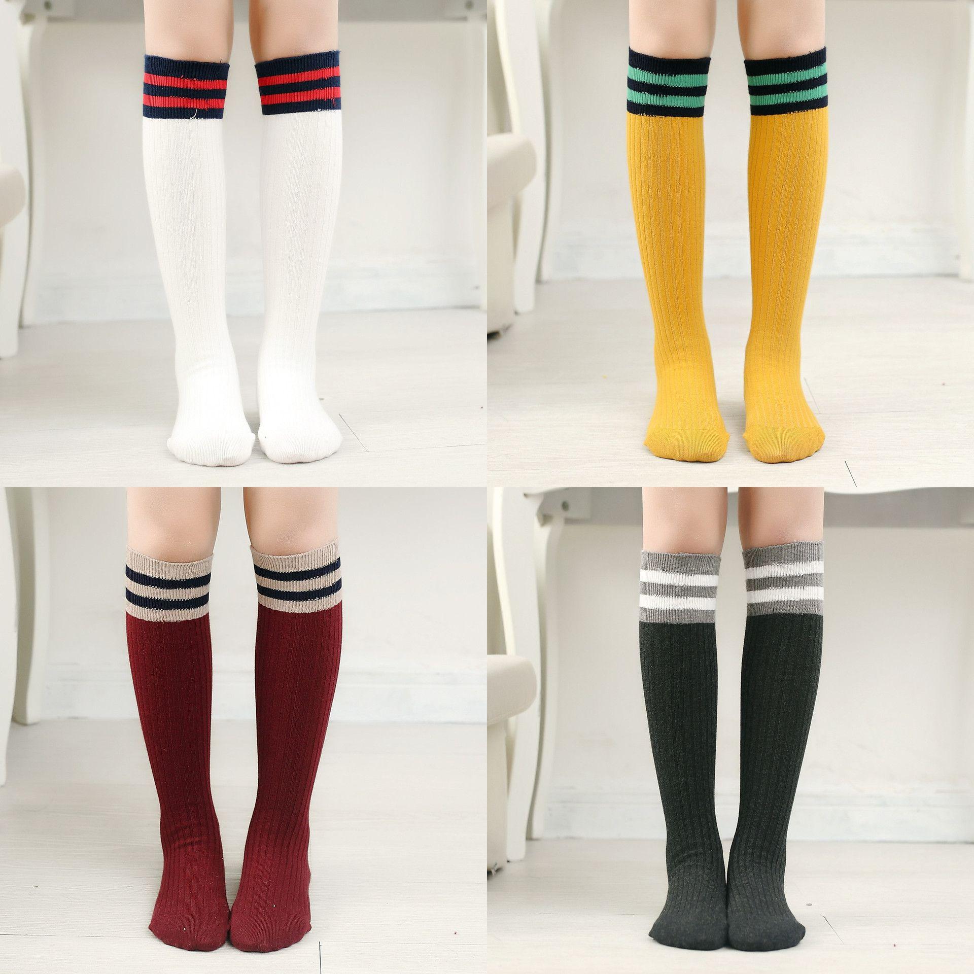 High Quality 3 12 Year Toddler Kids Children Striped Cotton Socks