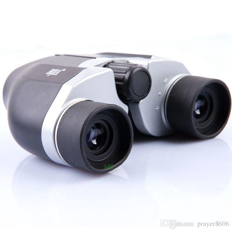 BIJIA Typical 2 Types 8x22 10x22 HD Binoculars Portable 107m/1000m Mini Telescope for Outdoor High Quality Blue Film