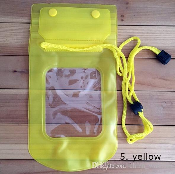 Mobile Phone Waterproof Pouch Bag Case Cover Underwater Touch Water Proof Phone Accessories&Parts Outdoor/Travel/Sport