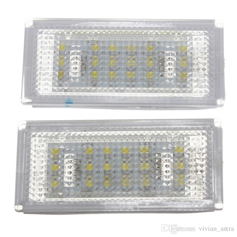 18 LED License Plate Light for BMW 3 Series /E46 2d Coupe 1998 - 2003 /M3 /Pre-Facelift