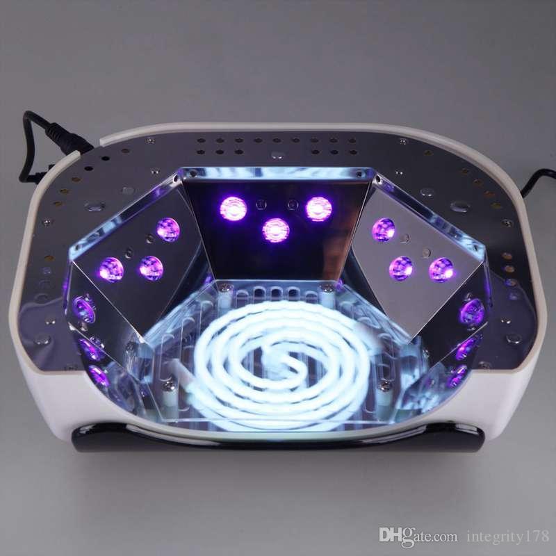 es CCFL 48W LED Light Best Curing Nail Dryer Nail Art Lamp Care Machine para UV Gel esmalte de uñas / lote libre de DHL