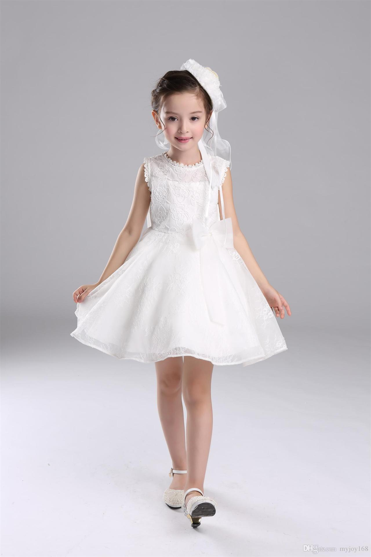 2016 New Design Flower Girl Dresses Children Wedding Dress
