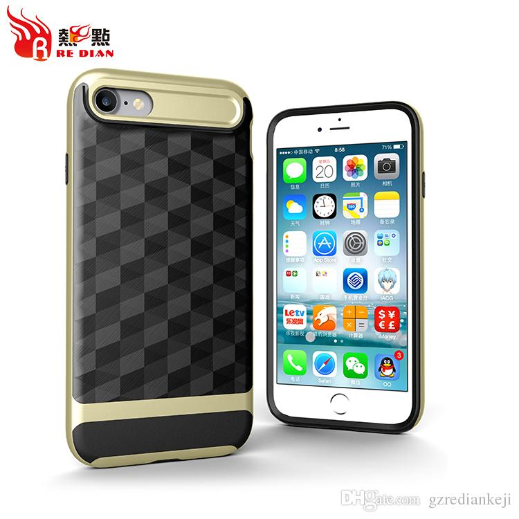Shock Proof Prism Protective Cell Phone Case 3D Printed Mobile Cell Phone Cases For IphoneX Hard Case Bumper Phone Cover For Iphone7