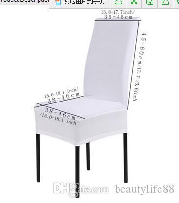 المنزل غطاء كرسي سماكة الطعام كرسي مرونة كرسي غطاء مكتب الكمبيوتر housse كرسي الزفاف الديكور الزفاف الديكور