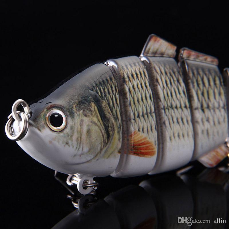 Lassen Sie Verschiffen Neue Minnow-Fischen-Köder-Kurbel-Köder-Haken Bass Crankbaits Tackle Sinking Popper Qualität Fischköder