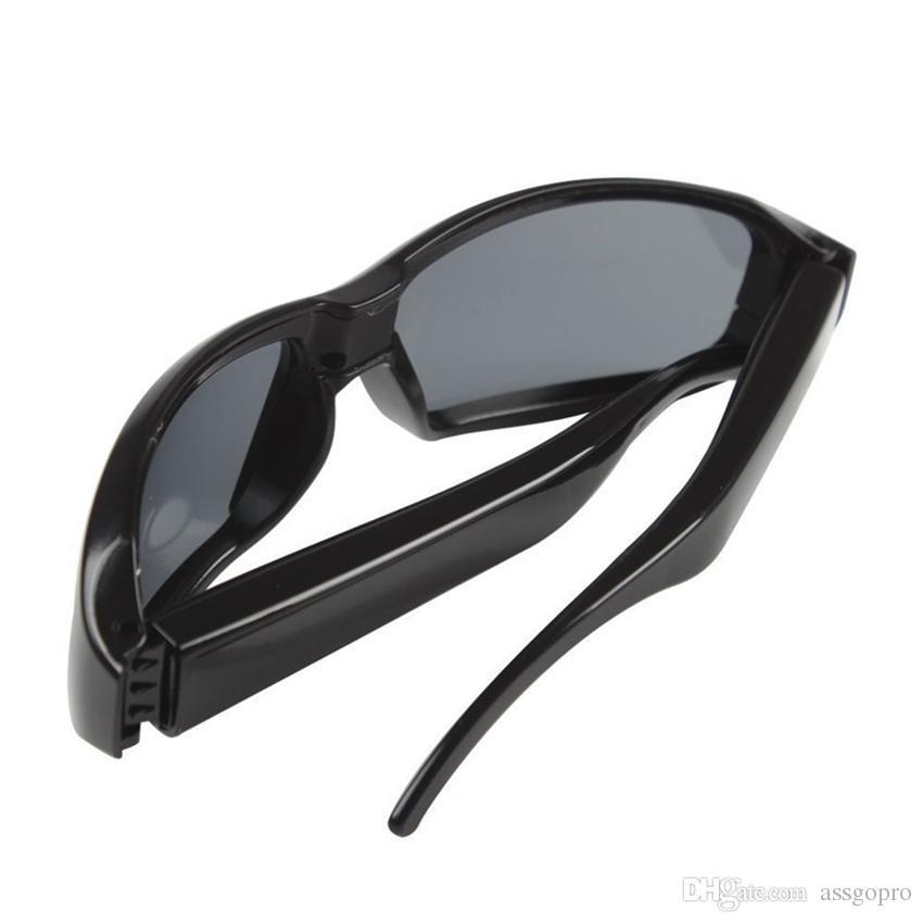 1080p 30fps Super Brillen DVR Mini Brille Kamera Portable Camcorder Brillen Sonnenbrillen Video Recorder Mini DV Cam Gold / Schwarz Objektiv