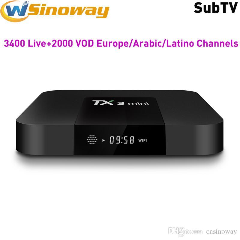 Europe IPTV Server Work on Android tv Box TX3 mini Support Arabic France  Turkey Pakistan Portugal Italy Germany EX-YU Russia Brazil Channels