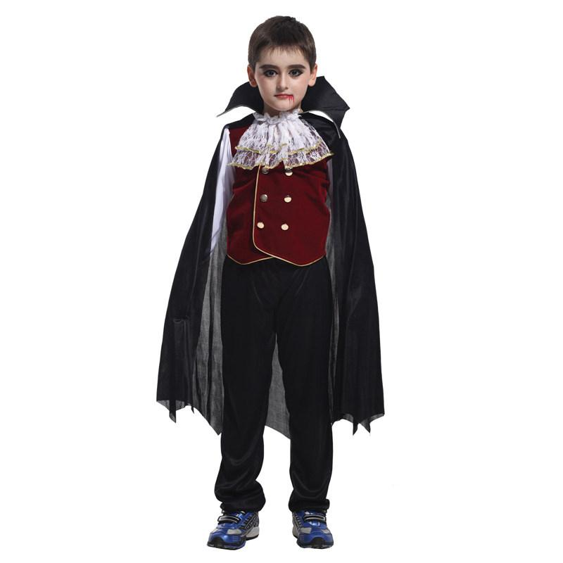 Wholesale Classic Halloween Costumes Cosplay V&ire Costume Kids Halloween Costume For Kids V&ire Cosplay Set Children Clothing By Ymyingmei Under $28.2 ...  sc 1 st  DHgate.com & Wholesale Classic Halloween Costumes Cosplay Vampire Costume Kids ...