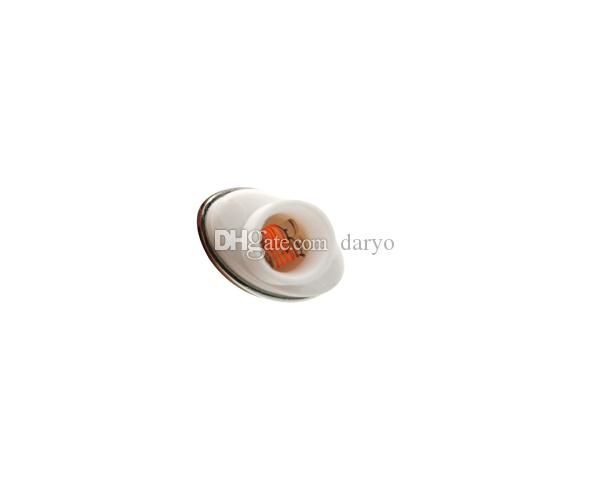 Quartz Wax Ceramic Dual Coil Replacement Core Atomizer For Wax Vaporizer  Pen Quartz Rod for Elips Cloud Pen in Stock free shipping
