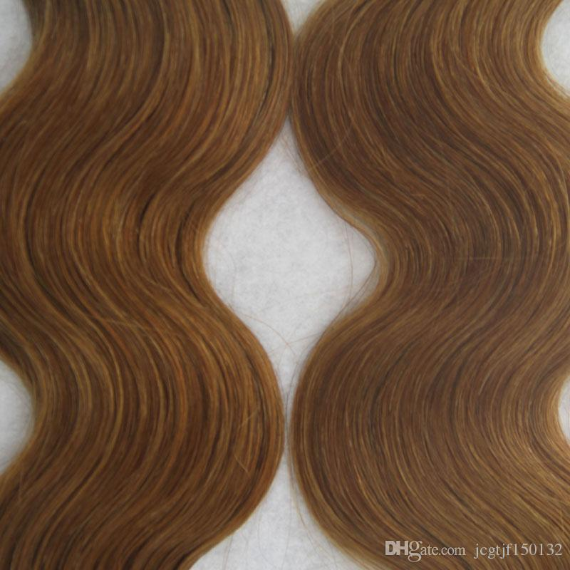 Tape Hair Extensions Remy Human Hair Skin Weft 100g Brazilian Virgin Remy Skin Weft Tape Adhesive Hair Extensions Products