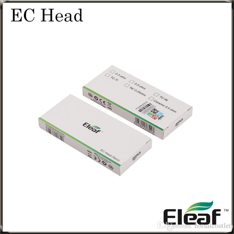 Eleaf EC Head iJust 2 Atomizer Replacement Coils 0.3ohm 0.5ohm For iJust 2 Tank 100% Original New Arrival Huge Stock